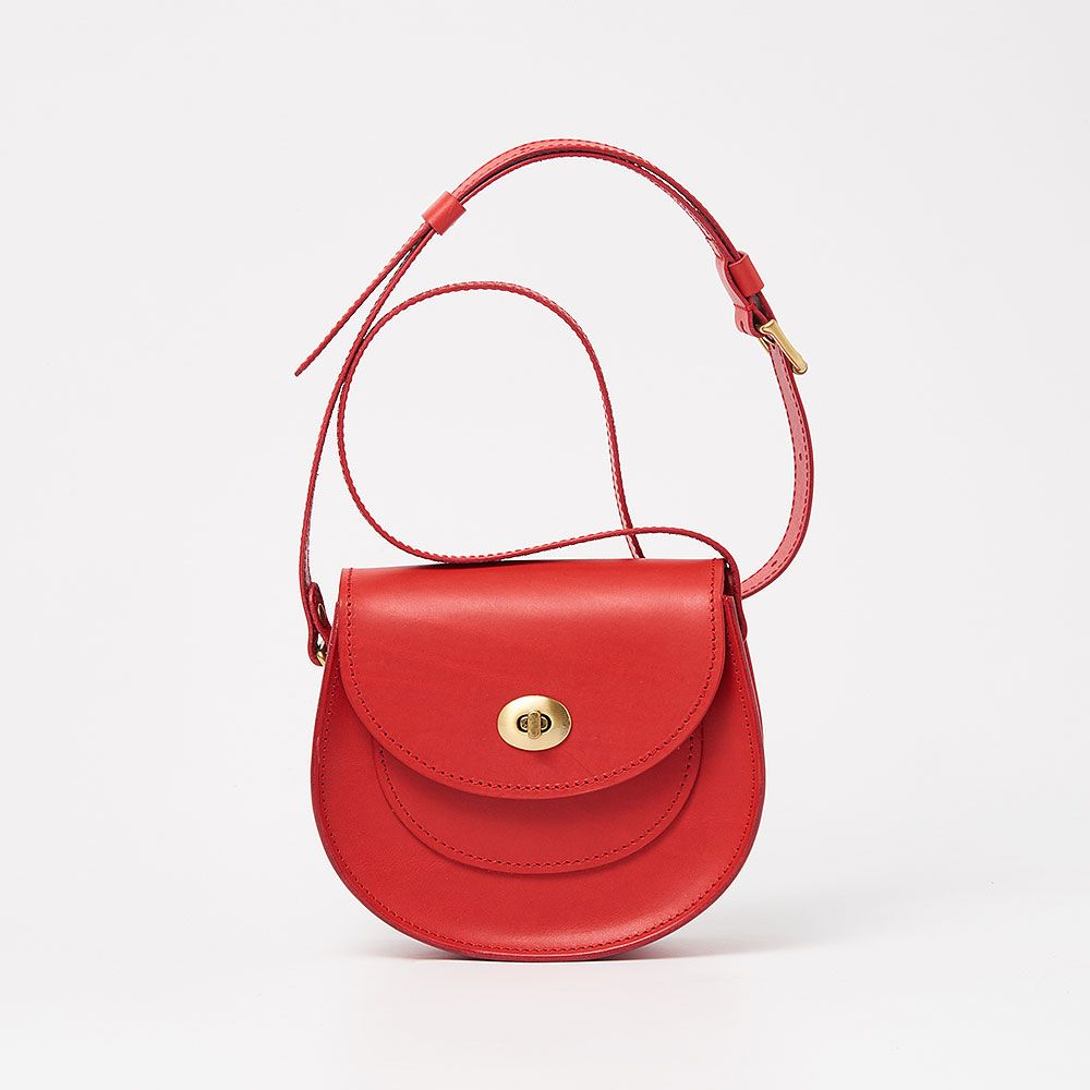 淵雀小馬鞍包 Saddle Bag / 紅色 Red