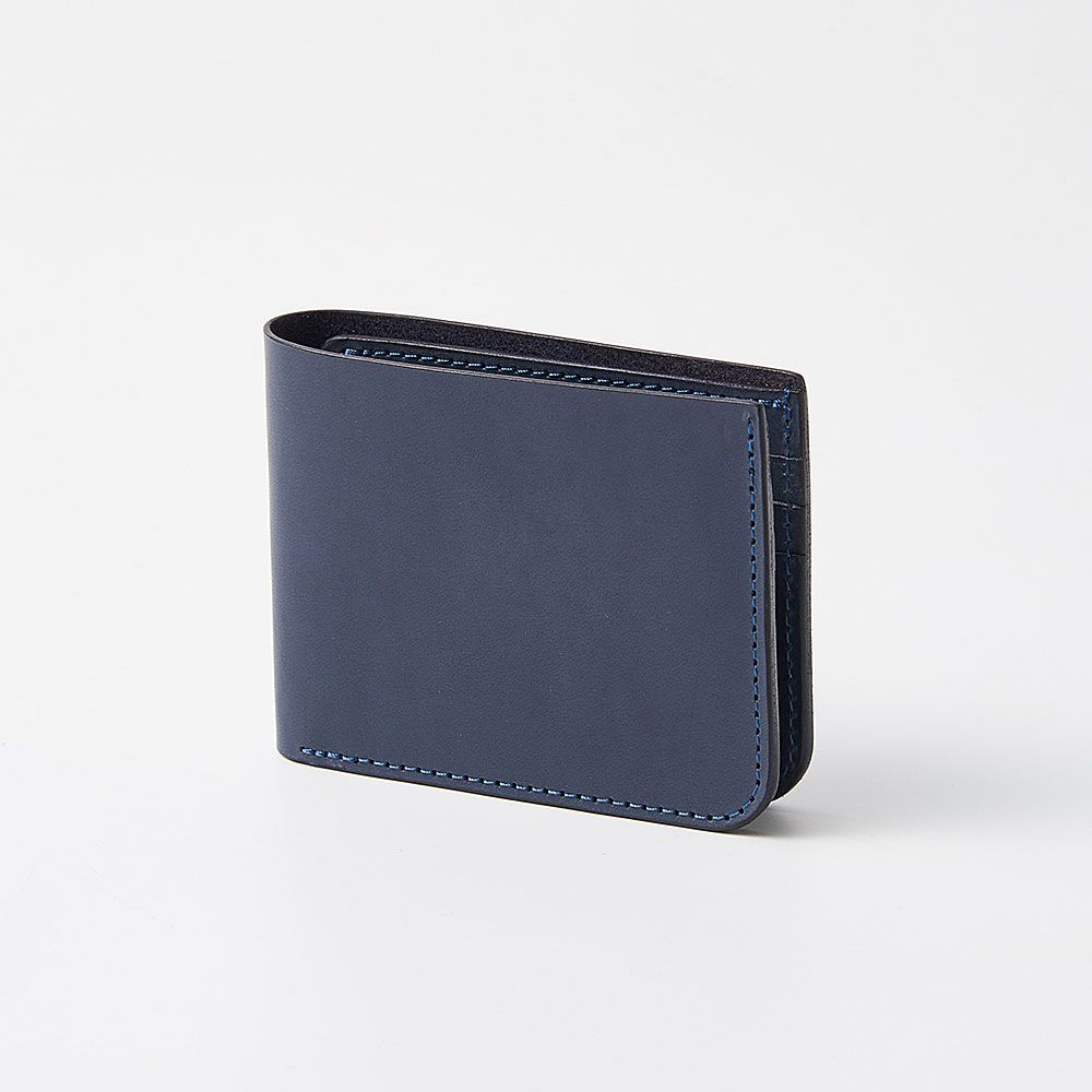 淵雀東西短夾 EW Wallet / 灰藍 Gray Blue